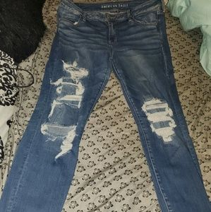 American eagle jeggings size 16